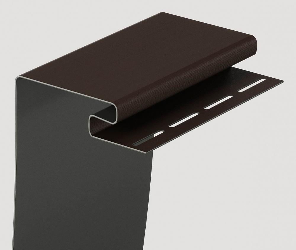Околооконный профиль  75/200/13 мм  Шоколад