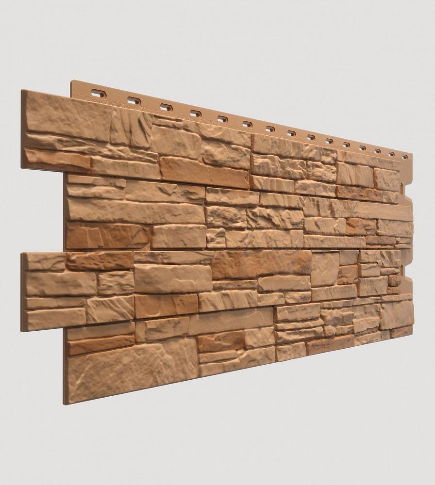 Фасадная панель Stein, осенний лес