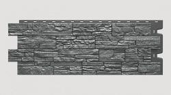 Фасадная панель Stein, антрацит