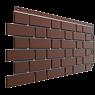 Фасадная панель Flemish, коричневый
