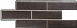 Панель Камень Венецианский, Коричневый, 1260х450мм