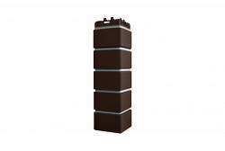 Угол Grand Line клинкерный кирпич Премиум шоколадный