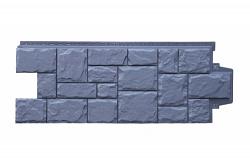 Фасадная панель Grand Line Крупный камень стандарт графит