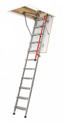 Складная металлическая лестница Lml Lux с телескопическими ножками