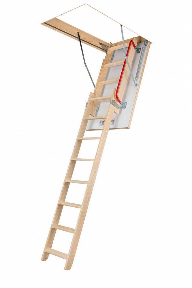 Раздвижные двухсекционные чердачные лестницы – серия Ldk