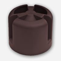 Колпак кровельный Krovent ( Кровент ) кровельная вентиляция Hupcap 110