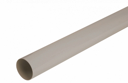 Водосток Nicoll (николь) - Труба водосточная D 50мм - водосточная система Lg16 полукруглый профиль