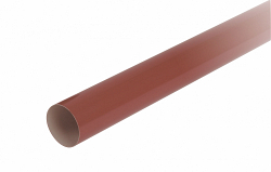 Водосток Nicoll (николь) - Труба водосточная D-50-4m - водосточная система Lg 25 полукруглый профиль