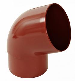 Водосток Nicoll (николь) - Отвод 67 град. D 80мм - водосточная система Lg 25 полукруглый профиль