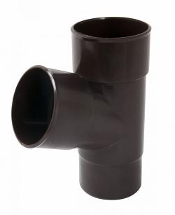 Водосток Nicoll (николь) - Тройник D 100 mm - водосточная система Vodalis (lg29)