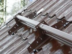 Снегозадержатель Borge для металлочерепицы